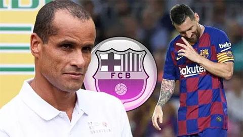 Rivaldo khuyên các fan Barca không nên hoảng loạn vì Messi