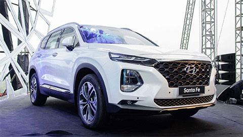 Hyundai Santa Fe 2019 bất ngờ giảm giá sốc