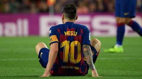 Rivaldo: 'Đừng bắt Messi trở lại sớm'
