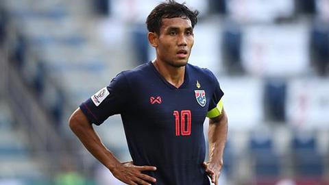 Thái Lan gọi Dangda, loại thẳng cầu thủ gốc Việt