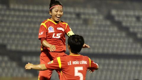 Vòng 12 giải nữ VĐQG: Hà Nội thắng đậm