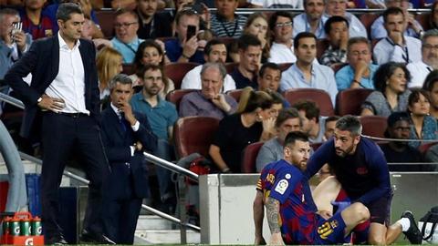 Không Messi, Barca thua 1/4 số trận