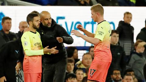 Hạ Everton bằng 'đội hình 2', Man City thể hiện chiều sâu siêu đẳng