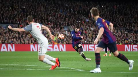 Messi là vua ghi bàn ngoài vòng cấm từ mùa 2007/08