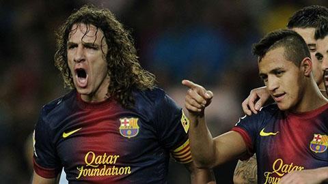 Alexis Sanchez: Puyol là thủ quân vĩ đại nhất