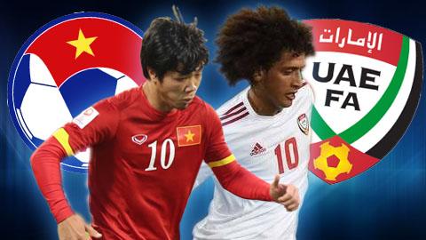 Bản quyền truyền hình trận UAE vs Việt Nam đã có chủ