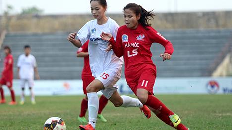 Vòng 13 giải nữ VĐQG 2019: Hải Yến lập hat-trick đưa Hà Nội lên nhì bảng