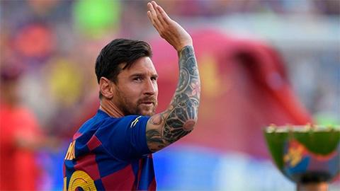 Barca đón vin vui về Messi trước trận gặp Inter