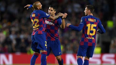 Barca ngược dòng đánh bại Inter 2-1: Đánh thức bản lĩnh