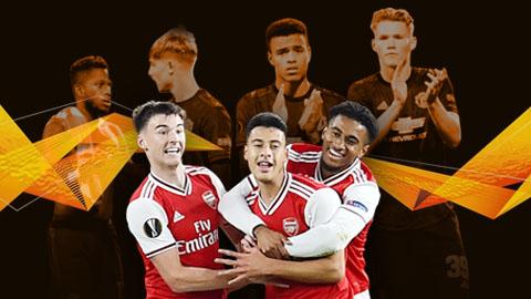 Tổng hợp Europa League: Hai thái cực trái ngược M.U, Arsenal