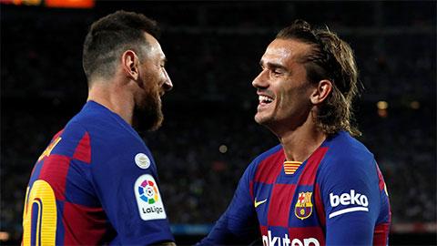 Griezmann đang bị Messi, Suarez xa lánh tại Barca?