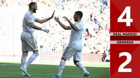 Real Madrid 4-2 Granada(Vòng 8 La Liga 2019/20)
