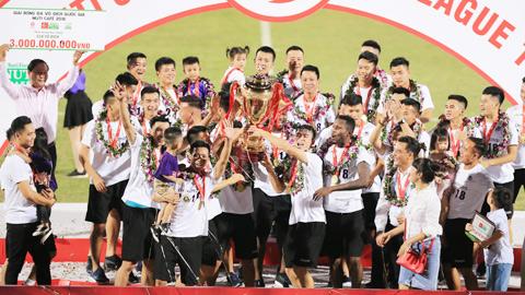 Hà Nội FC sẽ nhận cúp vô địch trên sân Cửa Ông