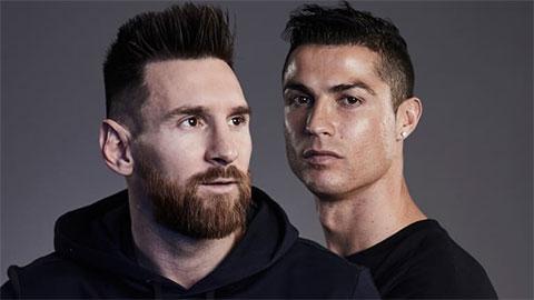 Kiểu đầu của Messi và Ronaldo bị chê quá xấu