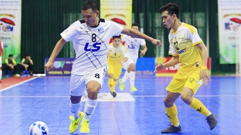 Cúp QG futsal diễn ra  vào tháng 11 tại Nghệ An