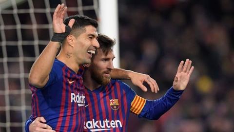 Valverde không hối thúc Messi và Suarez 'tăng ga'
