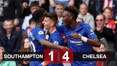Southampton 1 4 Chelsea The Blues Tiếp Tục Hồi Sinh Mạnh Mẽ Bongdaplus Vn