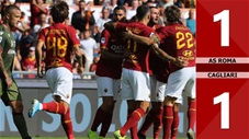 AS Roma 1-1 Cagliari(Vòng 8 - Seria A 2019/20)