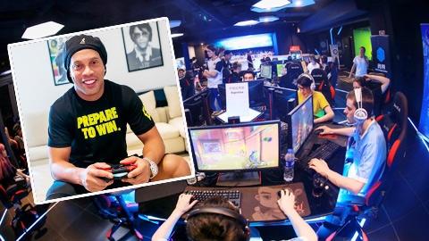 Ronaldinho lập đội thể thao điện tử