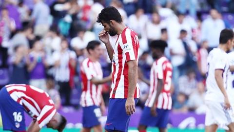 Valladolid 0-0 Atletico: Chiến trường  im tiếng súng