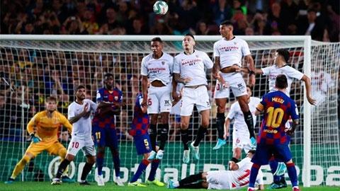 Messi đi vào lịch sử sau trận Barca hủy diệt Sevilla