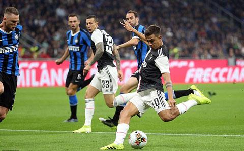 Dybala ghi bàn mở tỷ số cho Juventus