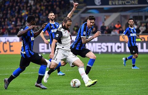 Higuain là người hùng của Juventus ở trận này