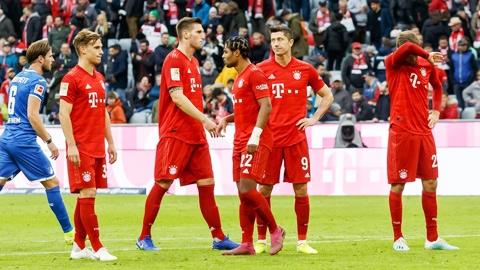 Bundesliga thời dàn hàng ngang