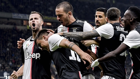 Juventus: Nhà vua chưa chịu rời ngai