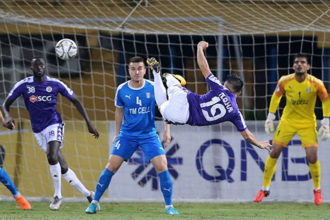 Hà Nội FC còn chút ít cơ hội để dự cúp châu Á mùa tới