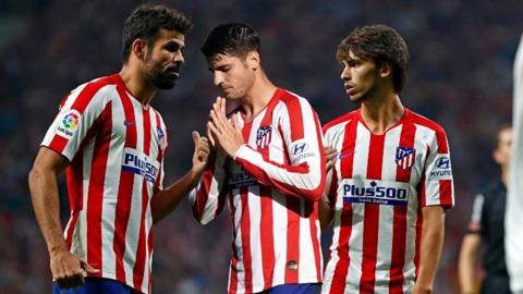 Atletico đang sở hữu hàng công kém nhất châu Âu