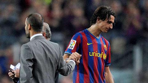 Mối quan hệ giữa Guardiola và Ibrahimovic vẫn chưa được cải thiện dù cho mọi chuyện đã xày ra từ rất lâu