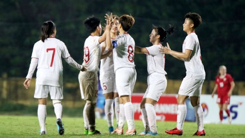 U19 nữ Việt Nam tích cực chuẩn bị  cho VCK U19 nữ châu Á 2019