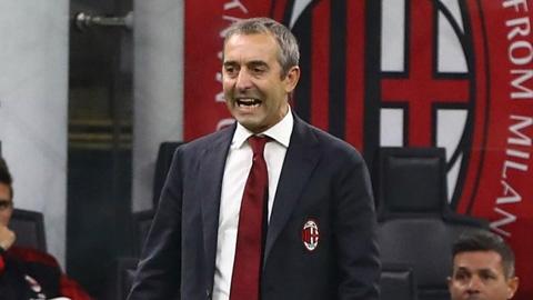 Milan sa thải Giampaolo chỉ sau 7 trận dẫn dắt