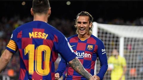 """Messi phủ nhận """"đì đọt"""" Griezmann"""