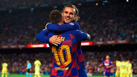 Messi phủ nhận không muốn làm đồng đội với Griezmann