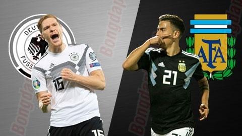 Soi kèo, dự đoán kết quả bóng đá ngày 9/10: Tâm điểm Đức vs Argentina
