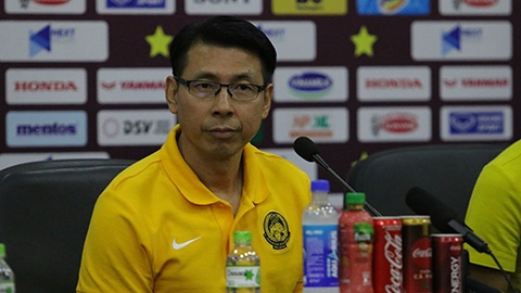HLV Tan Cheng Hoe: 'Malaysia đã sẵn sàng hạ Việt Nam'