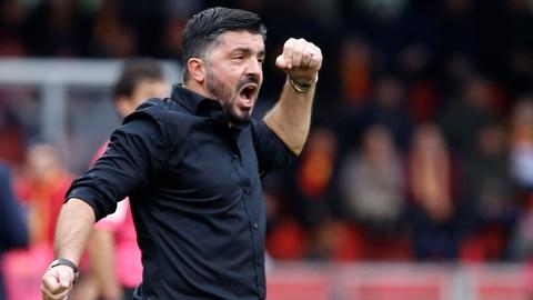 Gattuso cân nhắc dẫn dắt Sampdoria
