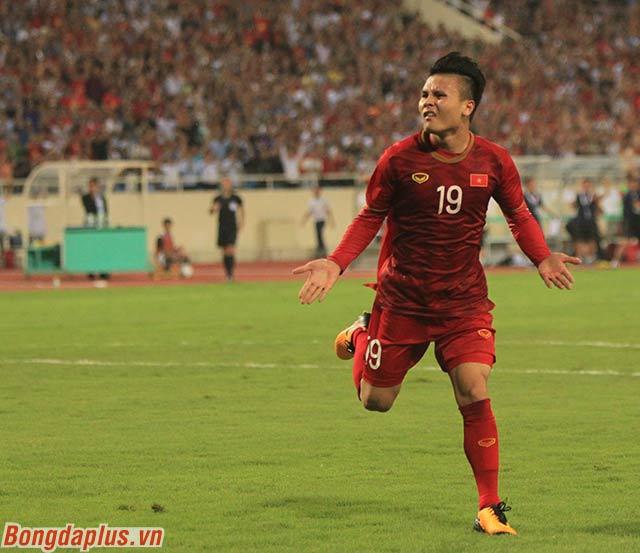 Bàn thắng trước đó gần nhất mà anh ghi được là ghi được vào lưới Yemen ở vòng bảng Asian Cup 2019