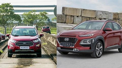 Hyundai Kona, Ford EcoSport, Honda HR-V giảm giá rất mạnh