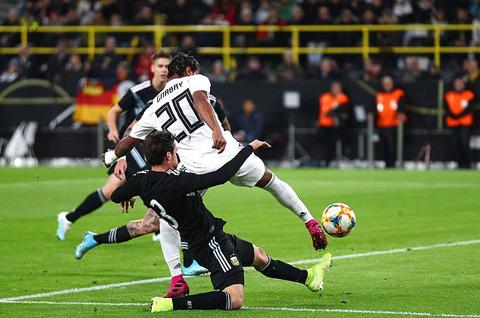Đức 2-2 Argentina: Bất phân thắng bại