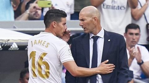 Zidane và James đang yêu lại từ đầu