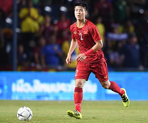 Duy Mạnh đã chơi rất tốt trước Malaysia