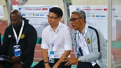 Thua Việt Nam, HLV Malaysia bỏ họp báo sau trận