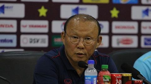 HLV Park Hang Seo: 'Tôi tự hào vì dẫn dắt ĐT Việt Nam'