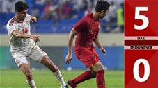 UAE 5-0 Indonesia(Vòng loại WCup 2022 KV Châu Á)