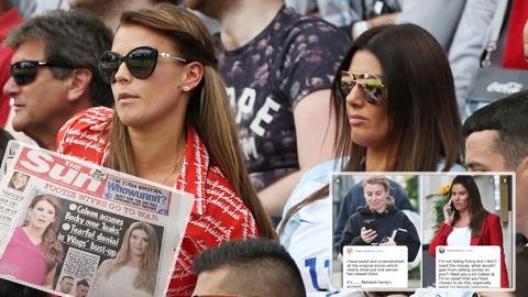 Vợ Rooney tố bà xã Vardy  bán chuyện đời tư của gia đình mình