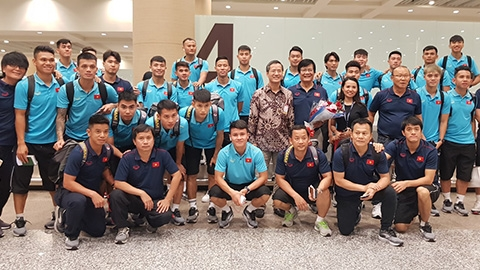 ĐT Việt Nam đã đến Bali, sẵn sàng đánh bại Indonesia