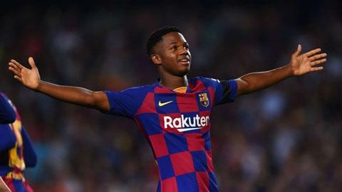 Sao tuổi teen của Barca được khoác áo ĐT Tây Ban Nha